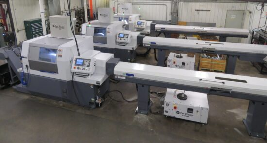 "Three Citizen L32 Swiss Machines, Auto Bar Loader, High Pressure Coolant, Multi-Axis, Multi-Spindle, Simultaneous Machining, Live Tooling, 1-1/4"" Capacity"