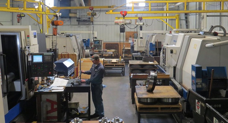 Large CNC Turning Department at Galaxy Precision