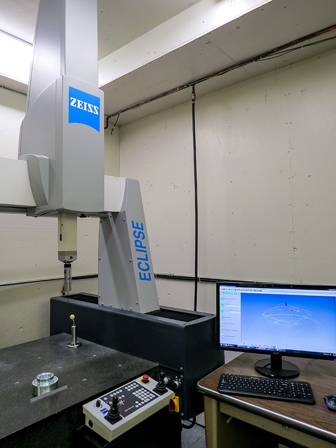 Zeiss Eclipse 550 DCC CMM at Galaxy Precision