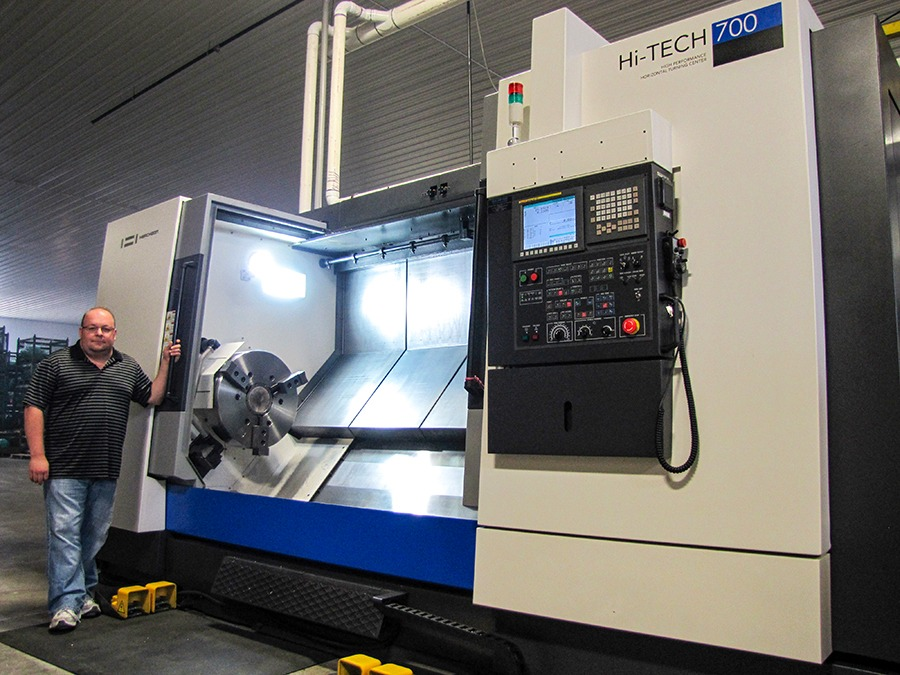 Hi-Tech Hwacheon 700 at Galaxy Precision