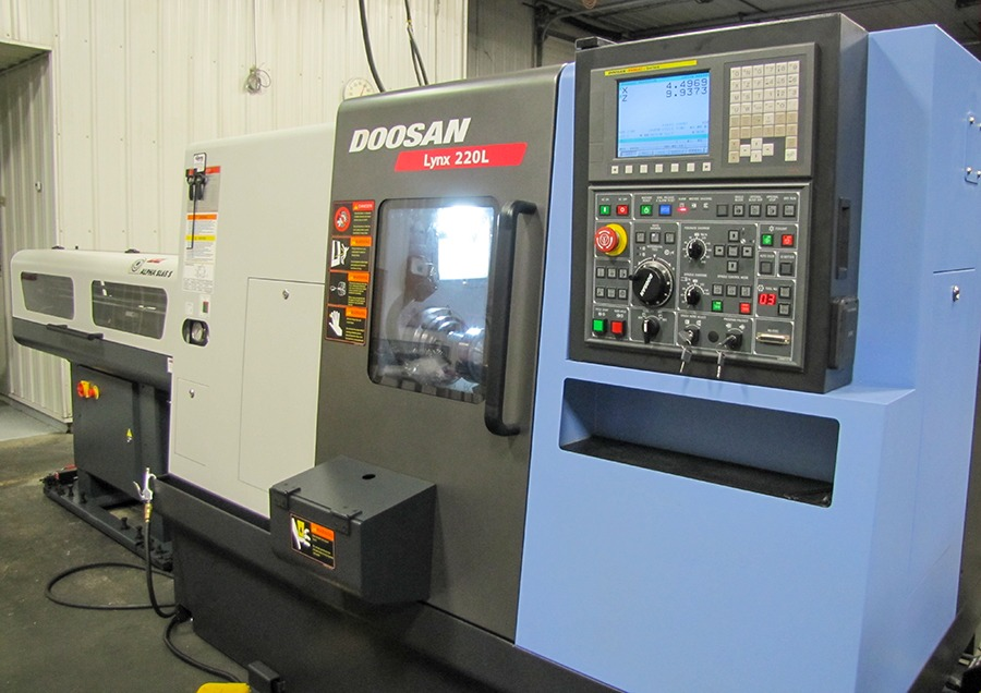 DOOSAN Lynx 220 L at Galaxy Precision