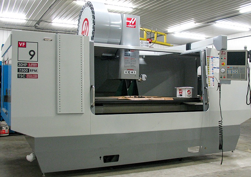 HAAS VF 9 at Galaxy Precision